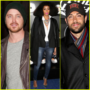 Aaron Paul & Zachary Levi: Playboy Super Bowl Party 2014