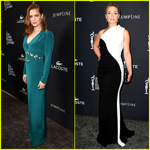 Amy Adams & Elisabeth Rohm - Costume Designers Guild Awards 2014
