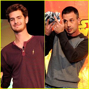 Andrew Garfield & Freddie Prinze Jr. Unveil New Disney Toys!