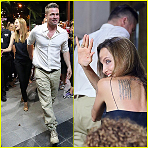 Angelina Jolie & Brad Pitt: Airlie Beach Date Night!