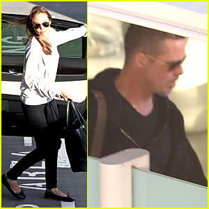 Angelina Jolie & Brad Pitt: Post Valentine's Day Reunion in London!
