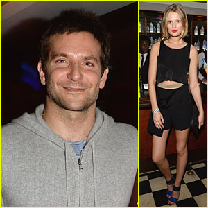 Bradley Cooper & Toni Garrn: 'American Hustle' Berlin After Party!