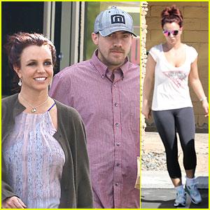 Britney Spears & David Lucado: Freebirds Lunch Before Vegas Show!