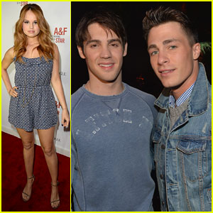 "Colton Haynes & Steven R. McQueen: Abercrombie & Fitch's '""The Making of a Star'"" Spring 2014 Campaign Party"