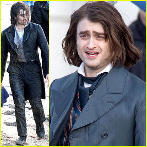 Daniel Radcliffe's Long Hair Reminds Us of Sirius Black!