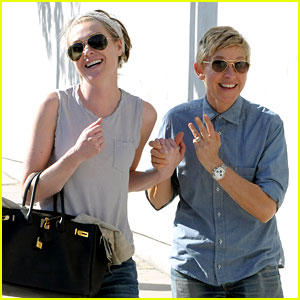 Ellen DeGeneres & Portia de Rossi Were the Cutest Couple on Valentine's Day!