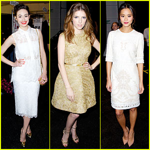 Emmy Rossum & Anna Kendrick: Monique Lhuiller Fashion Show!