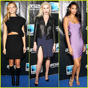 Erin Heatherton & Ireland Baldwin: DirecTV's Super Saturday!