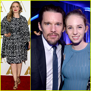 Ethan Hawke & Julie Delpy - Oscars Nominees Luncheon 2014