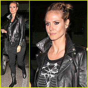 Heidi Klum Wants You to Vote for 'America's Got Talent' at the KCAs!