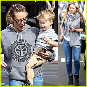 Hilary Duff: My Son Luca is Basically Picasso!