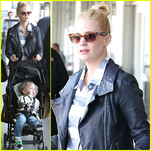January Jones Begins Filming 'Good Kill' in New Mexico!