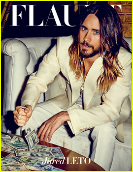 Jared Leto Is All Kinds of Hot In 'Flaunt' Magazine!