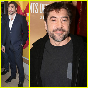 Javier Bardem: 'Sons Of The Clouds' Paris Premiere!