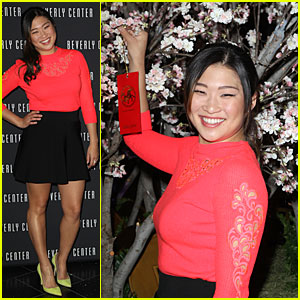 Jenna Ushkowitz: Red Hot for Chinese New Year Celebration!