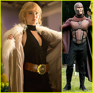 Jennifer Lawrence & Michael Fassbender: New Stills for 'X-Men'!