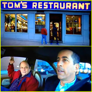 Jerry Seinfeld & Jason Alexander: 'Seinfeld' Reunion for Super Bowl Commercial 2014 (Video)