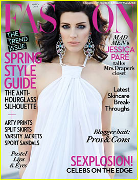 Jessica Pare to 'Fashion' Magazine: 'Of Course I'm a Feminist'