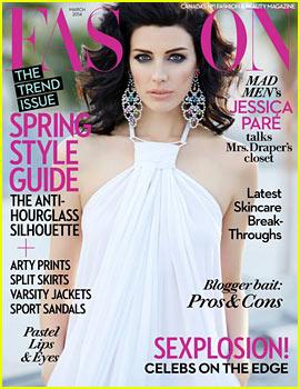 Jessica Pare to 'Fashion' Magazine: 'Of Course I'm a Feminist'