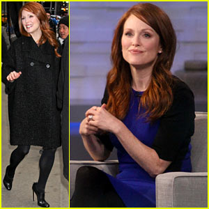 Julianne Moore Applauds Future Co-Star Ellen Page's Coming Out Speech