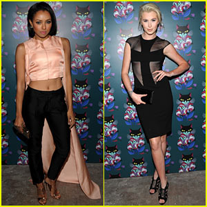 Kat Graham & Ireland Baldwin Watch Miu Miu's 'Spark & Light' at Star-Studded Bash!