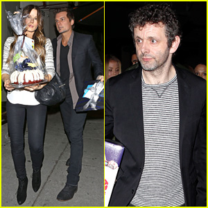 Kate Beckinsale Celebrates Ex Michael Sheen's Birthday with Len Wiseman & More!