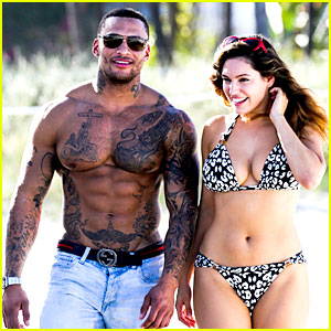 Kelly Brook: Bikini Babe with Macho Boyfriend David McIntosh!