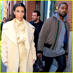 Kim Kardashian & Kanye West Step Out After 'Yeezus' Tour Ends