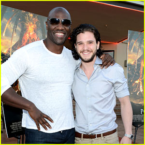 Kit Harington Brings His Movie 'Pompeii' to Miramar Naval Base!