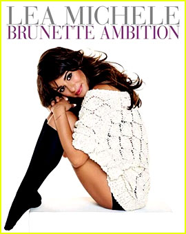 Lea Michele Reveals 'Brunette Ambition' Book Cover (Photo)