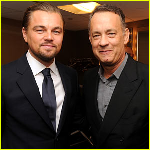 Leonardo DiCaprio: Ace Eddie Awards 2014 with Tom Hanks!