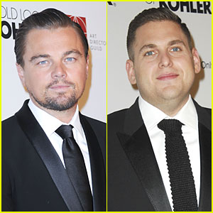 Leonardo DiCaprio & Jonah Hill Honor Martin Scorsese at ADG Awards!