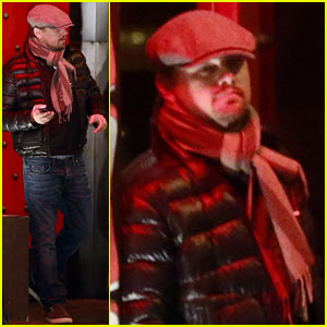 Leonardo DiCaprio Spends Time with Friends Before Oscar Sunday!