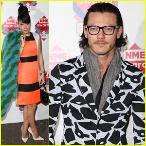 Luke Evans & Lily Allen: NME Awards 2014