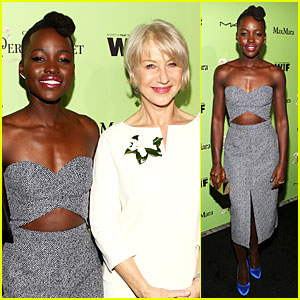 Lupita Nyong'o & Helen Mirren Show Admiration For Each Other at Women In Film Pre-Oscar Party!