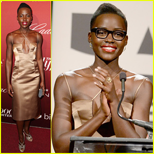 12 Years a Slave's Lupita Nyong'o: THR's Nominees Night Party 2014!