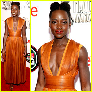 Lupita Nyong'o Wins Best Supporting Actress at NAACP Image Awards 2014!