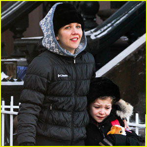 Maggie Gyllenhaal: New York Weather is Bringing Me Down!