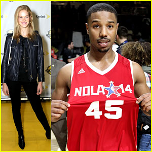 Michael B. Jordan & More Play in NBA All-Star Celebrity Game!