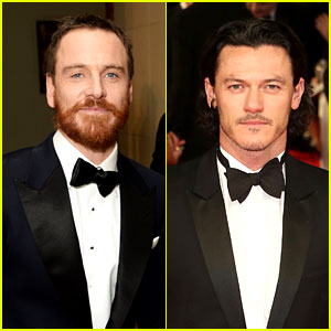 Michael Fassbender & Luke Evans Make Us Swoon at BAFTAs 2014