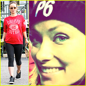Olivia Wilde Rocks P6 Hat to Protest Russia's Anti-Gay Law!