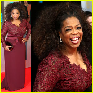 Oprah Winfrey - BAFTAs 2014 Red Carpet