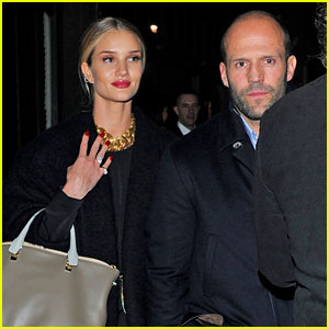 Rosie Huntington-Whiteley on Boyfriend Jason Statham: We Have a Lot of Fun Together