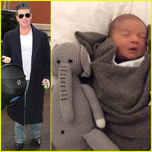 Simon Cowell's Newborn Son Eric Made Two New Friends!