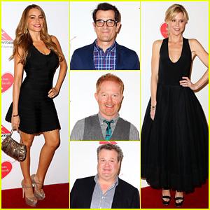 Sofia Vergara & Julie Bowen: 'Modern Family' Sydney Media Call!