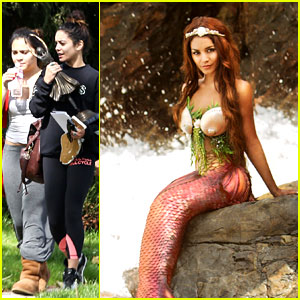 Vanessa Hudgens Makes a Splash as Sexy Mermaid in New Pic!