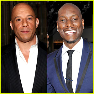 Vin Diesel & Tyrese Gibson - NAACP Image Awards 2014