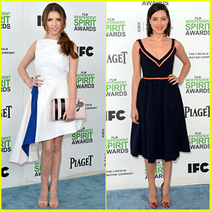 Anna Kendrick & Aubrey Plaza: BFFs at the Spirit Awards 2014!