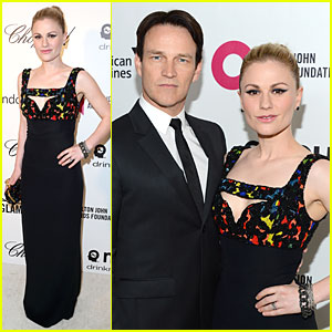 Anna Paquin & Stephen Moyer - Elton John Oscars Party 2014