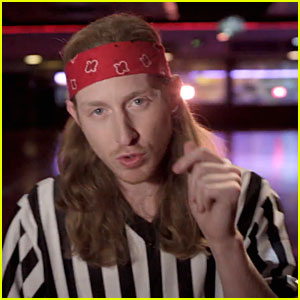Asher Roth Is a Retro Referee in 'Tangerine Girl' Music Video - Watch Now!